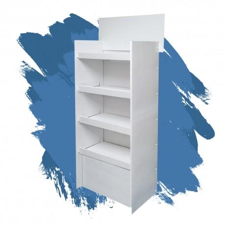 blue 2 60x45x150 ekspozytor półkowy