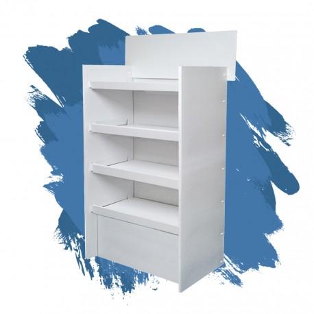 ekspozytor blue 3 100x46x150 4 półki