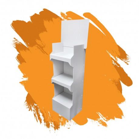 Ekspozytor półkowy orange 3