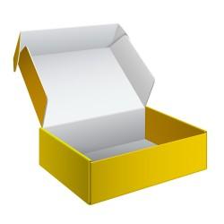 Pudełko tekturowe, zamykane